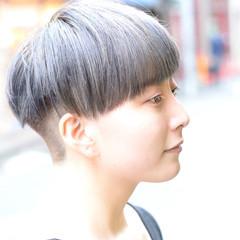 外国人風 ショートボブ 大人女子 坊主 ヘアスタイルや髪型の写真・画像