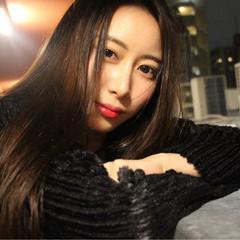 冬 外国人風 こなれ感 大人女子 ヘアスタイルや髪型の写真・画像