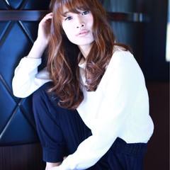 ロング 色気 コンサバ ラフ ヘアスタイルや髪型の写真・画像
