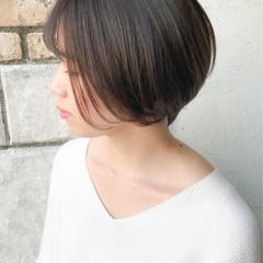 コンサバ ショートヘア ショート 大人かわいい ヘアスタイルや髪型の写真・画像