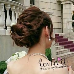ゆるふわ 大人かわいい ロング ヘアアレンジ ヘアスタイルや髪型の写真・画像