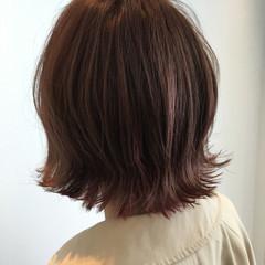 ショート ストリート ピンク インナーカラー ヘアスタイルや髪型の写真・画像