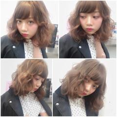 ストリート アッシュ 外国人風 ブラウン ヘアスタイルや髪型の写真・画像
