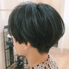 マッシュ マッシュヘア ショート メンズ ヘアスタイルや髪型の写真・画像