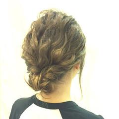 オフィス セミロング 大人かわいい 女子会 ヘアスタイルや髪型の写真・画像