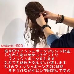 ヘアアレンジ エレガント 上品 ルーズ ヘアスタイルや髪型の写真・画像