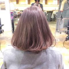 ボブ 秋 ストリート ロブ ヘアスタイルや髪型の写真・画像