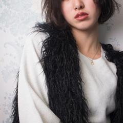 おフェロ ナチュラル 色気 冬 ヘアスタイルや髪型の写真・画像