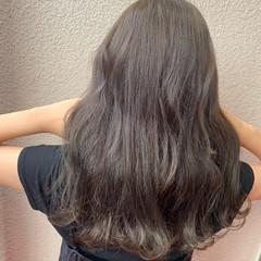 アンニュイほつれヘア モテ髪 セミロング 大人女子 ヘアスタイルや髪型の写真・画像