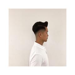 メンズカット 刈り上げ メンズ コンサバ ヘアスタイルや髪型の写真・画像