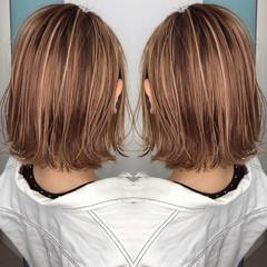 3Dハイライト 外国人風カラー 外国人風 グレージュ ヘアスタイルや髪型の写真・画像
