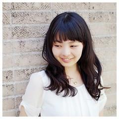 ピュア デジタルパーマ 暗髪 ナチュラル ヘアスタイルや髪型の写真・画像