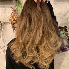 エレガント 外国人風カラー 上品 ロング ヘアスタイルや髪型の写真・画像
