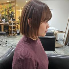 フェミニン ボブ ミニボブ ショートヘア ヘアスタイルや髪型の写真・画像