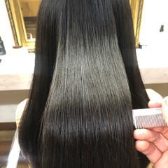 髪質改善トリートメント ロング 髪質改善 髪質改善カラー ヘアスタイルや髪型の写真・画像