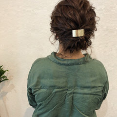 ヘアセット アップスタイル ボブアレンジ ボブ ヘアスタイルや髪型の写真・画像