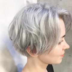 アンニュイ 小顔 モード 雨の日 ヘアスタイルや髪型の写真・画像