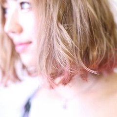 ダブルカラー ボブ ハイライト ガーリー ヘアスタイルや髪型の写真・画像