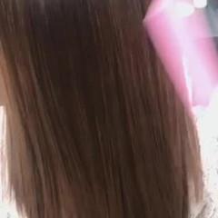 超音波 髪質改善カラー 髪質改善トリートメント ナチュラル ヘアスタイルや髪型の写真・画像