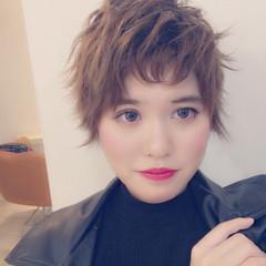 ストリート ショート 外国人風 モード ヘアスタイルや髪型の写真・画像