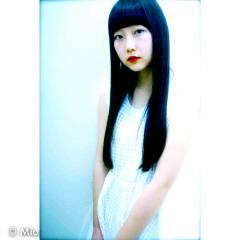 ナチュラル 春 ロング パンク ヘアスタイルや髪型の写真・画像