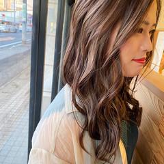 ハイライト エレガント 透明感カラー スロウカラーコンテスト ヘアスタイルや髪型の写真・画像