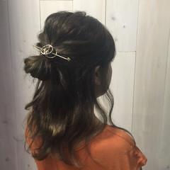 ストリート ルーズ ミディアム ラフ ヘアスタイルや髪型の写真・画像