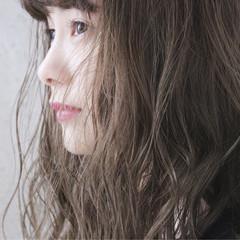 ヘアアレンジ エフォートレス ナチュラル ブリーチ ヘアスタイルや髪型の写真・画像