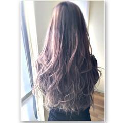 大人かわいい アッシュ グラデーションカラー 春 ヘアスタイルや髪型の写真・画像