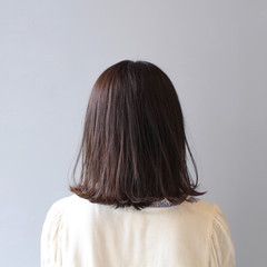 外ハネボブ ボブ モテボブ ナチュラル ヘアスタイルや髪型の写真・画像