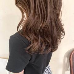 オルチャン コテ巻き風パーマ 韓国ヘア 切りっぱなしボブ ヘアスタイルや髪型の写真・画像