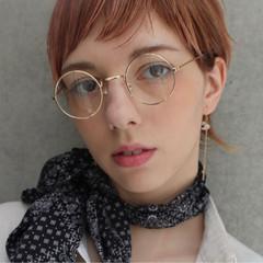 エフォートレス ショート 成人式 フェミニン ヘアスタイルや髪型の写真・画像