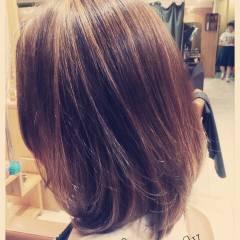 秋 ストリート ミディアム 外国人風カラー ヘアスタイルや髪型の写真・画像