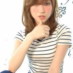 モテ髪 ミディアム コンサバ 春 ヘアスタイルや髪型の写真・画像