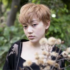 金髪 似合わせ かわいい ナチュラル ヘアスタイルや髪型の写真・画像