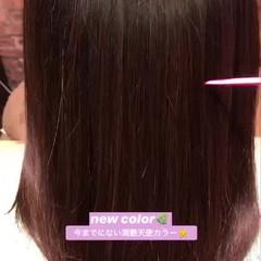 髪質改善トリートメント ナチュラル 髪質改善 うる艶カラー ヘアスタイルや髪型の写真・画像