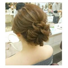 デート ヘアアレンジ アウトドア 結婚式 ヘアスタイルや髪型の写真・画像