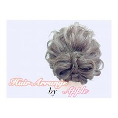 フェミニン 大人かわいい セミロング ショート ヘアスタイルや髪型の写真・画像