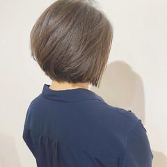 ショートボブ ハンサムショート ショート 大人かわいい ヘアスタイルや髪型の写真・画像