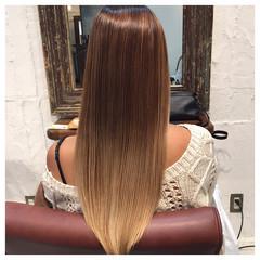 外国人風カラー アッシュ ストリート ミルクティー ヘアスタイルや髪型の写真・画像