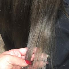 アッシュ グレージュ 外国人風 グレー ヘアスタイルや髪型の写真・画像