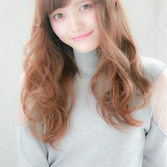 セミロング 前髪あり くせ毛風 ストリート ヘアスタイルや髪型の写真・画像