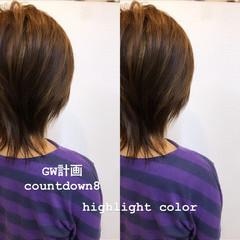 ストリート ハイライト ブリーチカラー 大人ハイライト ヘアスタイルや髪型の写真・画像