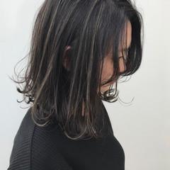 ハイライト 女子力 外ハネ 大人かわいい ヘアスタイルや髪型の写真・画像
