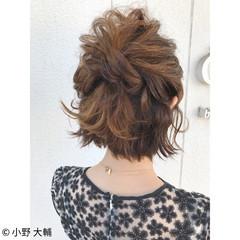ナチュラル 色気 結婚式 涼しげ ヘアスタイルや髪型の写真・画像