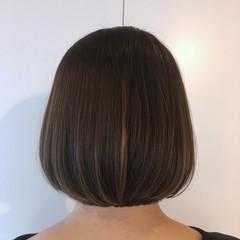モテボブ ナチュラル ボブ デート ヘアスタイルや髪型の写真・画像