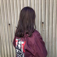 ピンクバイオレット バイオレットアッシュ バイオレットカラー ブルーバイオレット ヘアスタイルや髪型の写真・画像