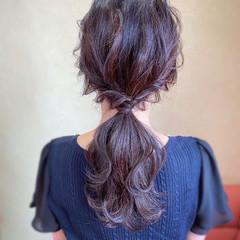 パーティ ヘアアレンジ ロング 大人かわいい ヘアスタイルや髪型の写真・画像
