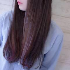 モード ピンク グラデーションカラー レッド ヘアスタイルや髪型の写真・画像