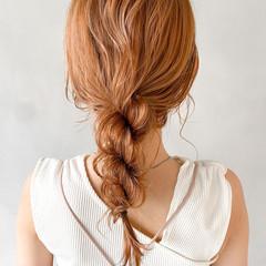 パーティー アンニュイほつれヘア 結婚式 ミディアム ヘアスタイルや髪型の写真・画像